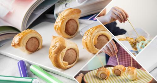 Rondelles de snack salé