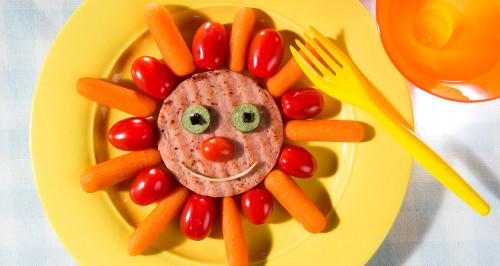 Simpaticotto con verdure estive fresche