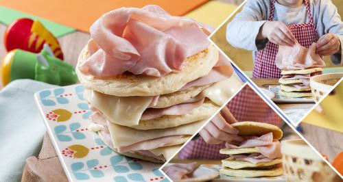 Torre di pancakes