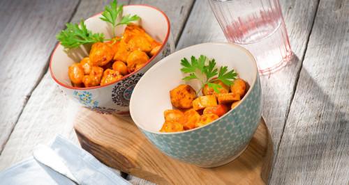 Lauwarmer Salat mit Wuoi? Werdure Mix und spanischen