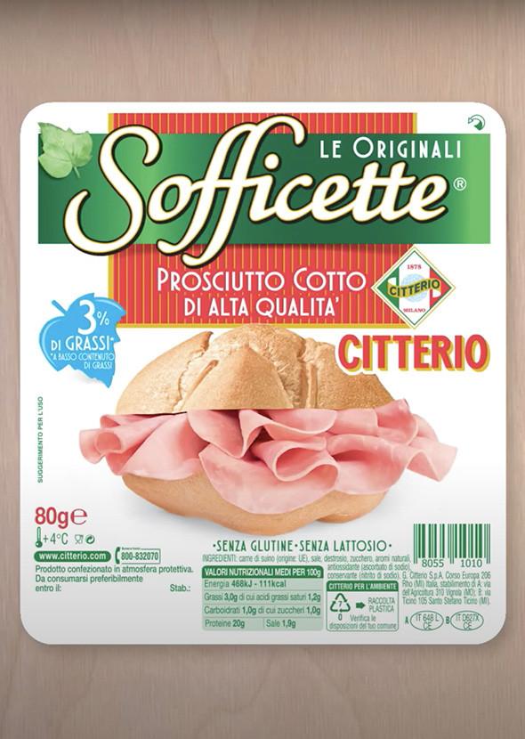 Spot Sofficette Prosciutto Cotto Citterio - 10''
