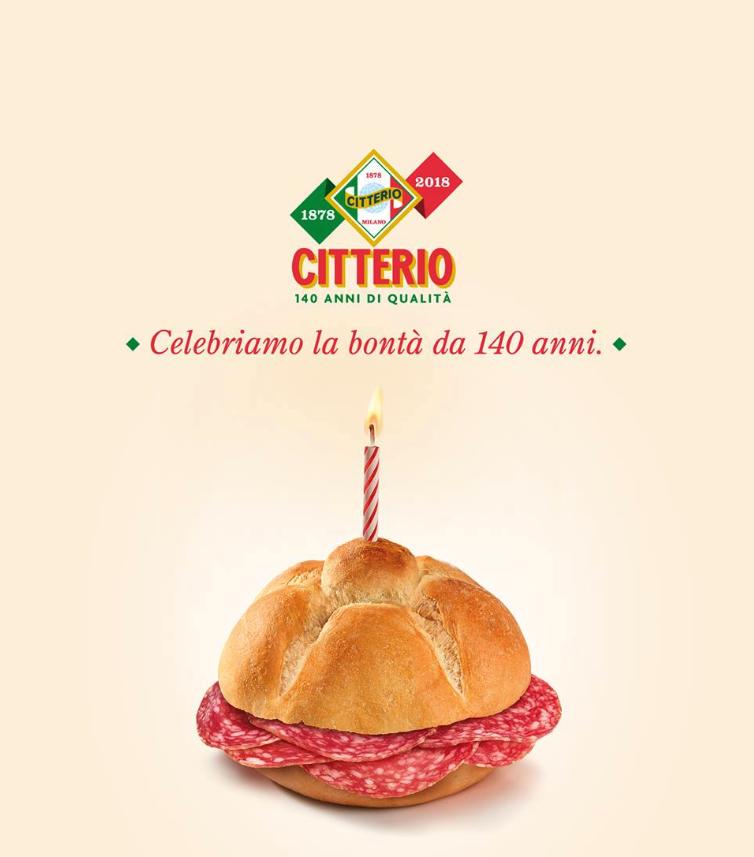 Celebriamo la bontà da 140 anni (1878-2018)