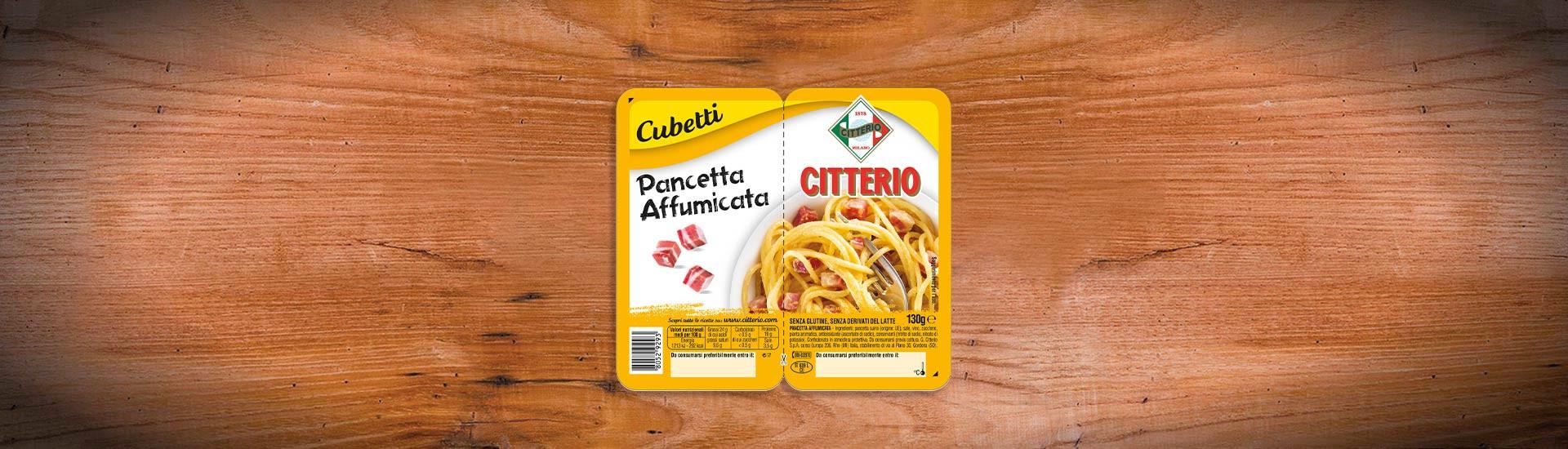 Pancetta Affumicata Citterio Cubetti