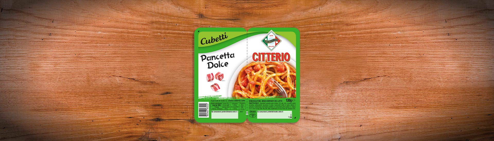 Pancetta Dolce Citterio Cubetti