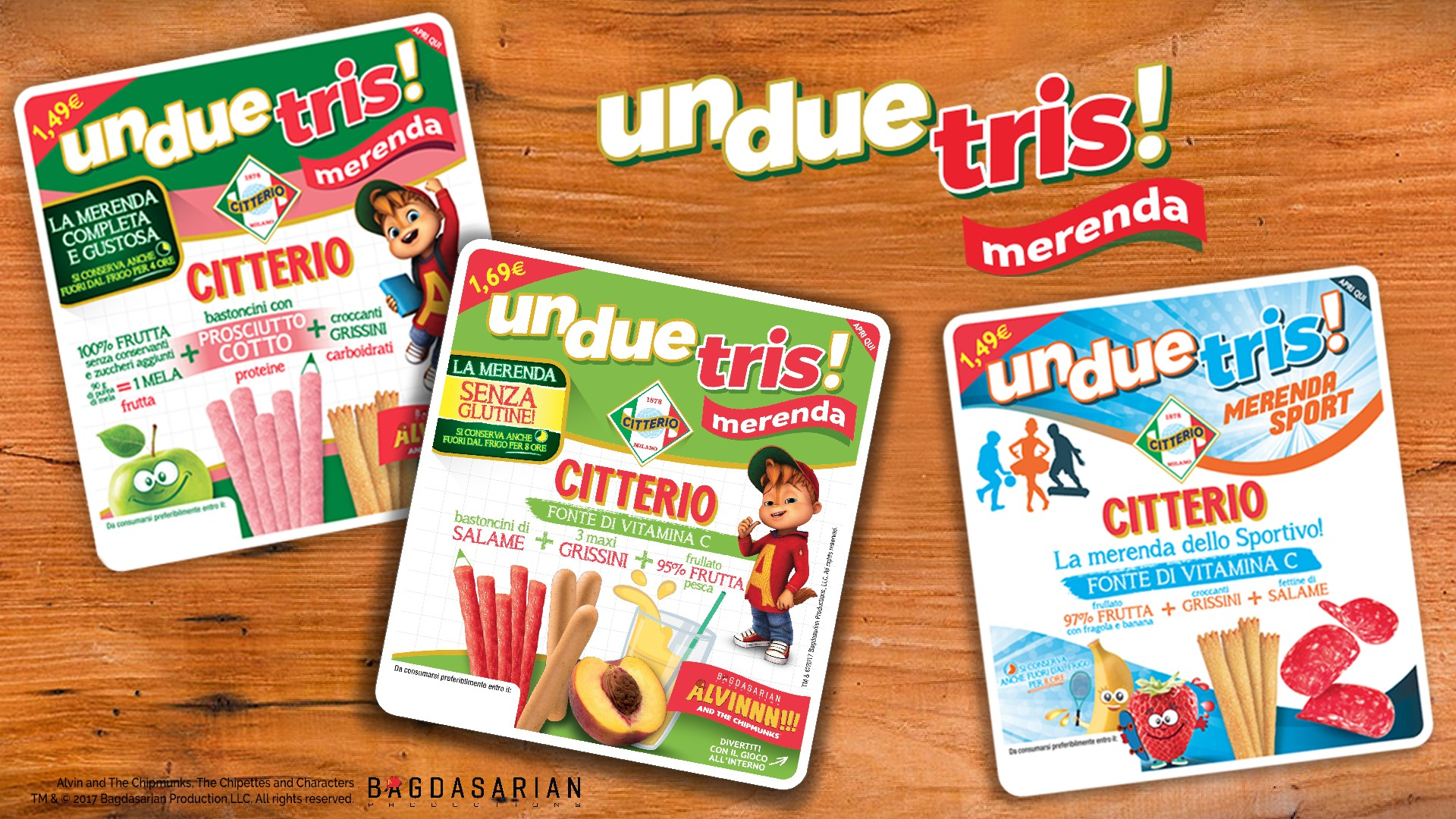 Discover the new UnDueTris Merenda
