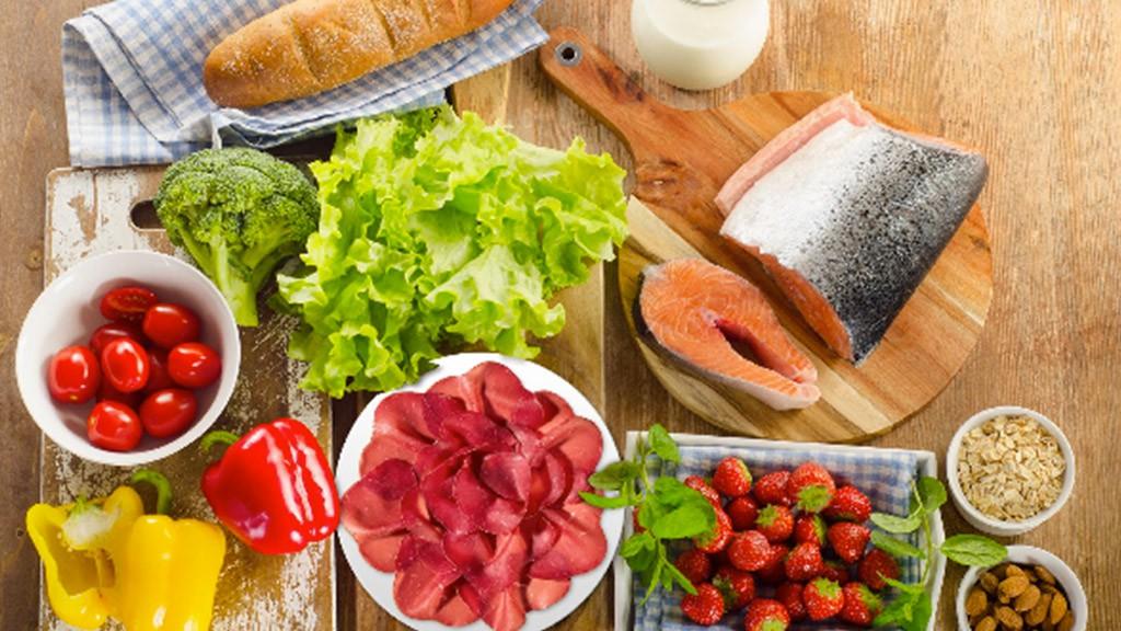 Gesunde und abwechslungsreiche Ernährung