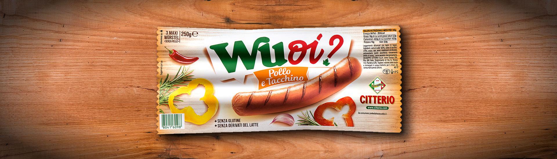 Wuoi? Maxi 3 pezzi Pollo & Tacchino