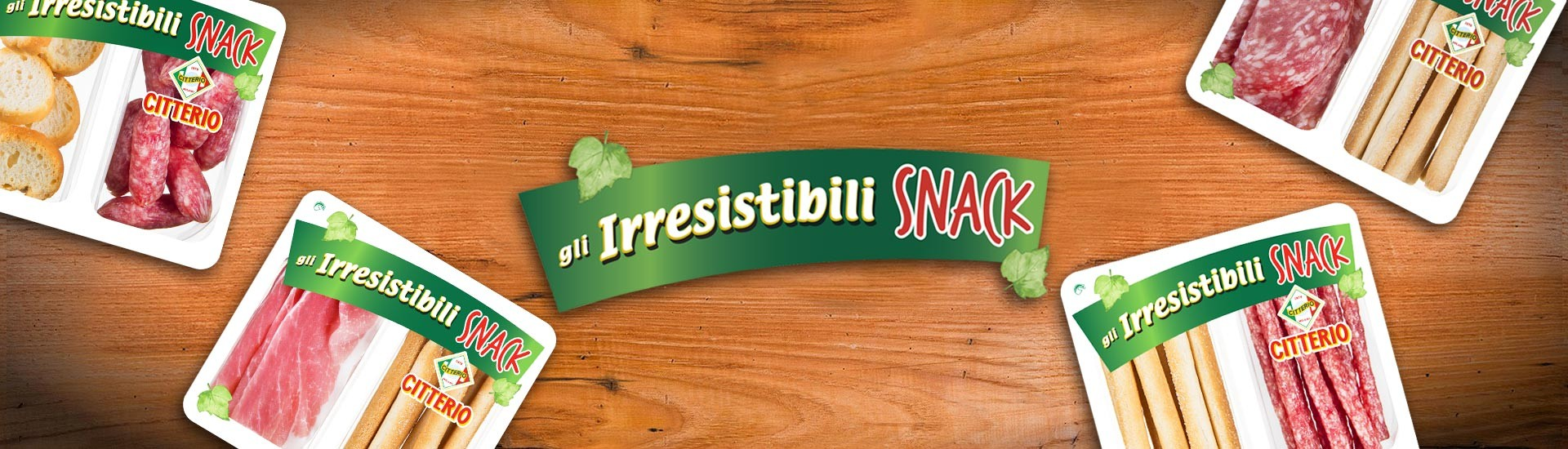 irresistibili snack