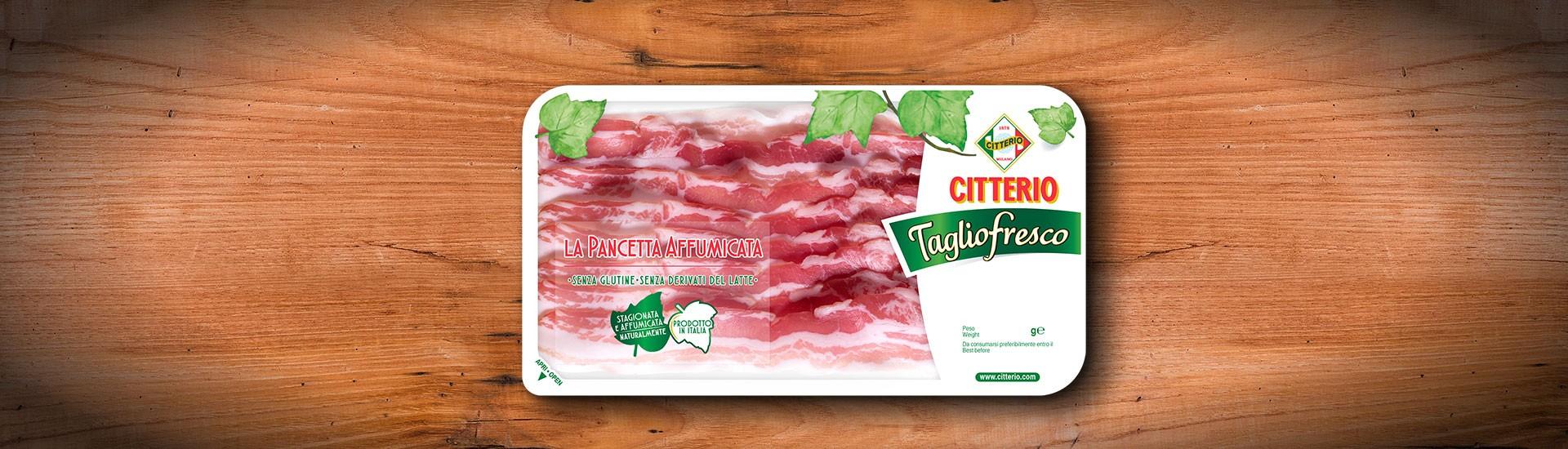 Pancetta affumicata Bacon