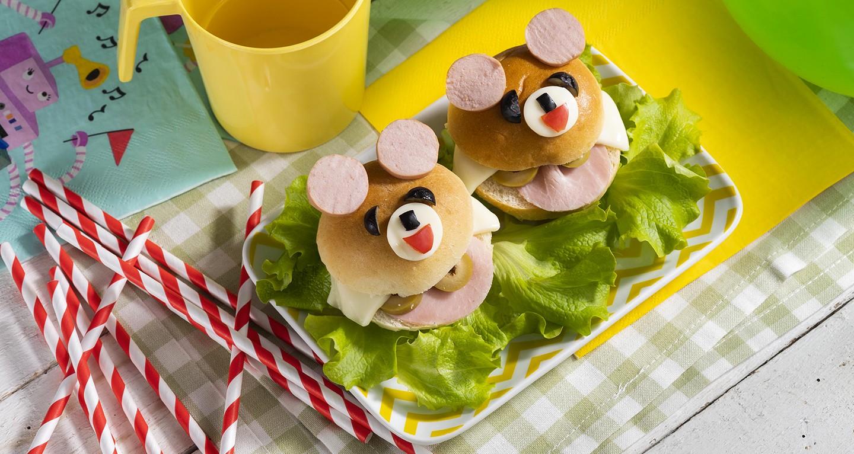 Cute sandwiches