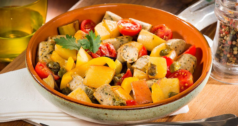 Gemüse-Caponata mit Wuoi? Werdure mix